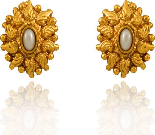 f8c465708f4 Pearl Stud Earrings - Buy Pearl Stud Earrings online at Best Prices ...