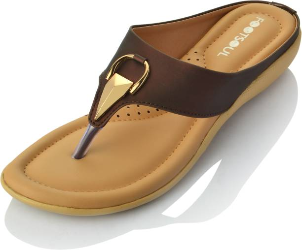 Footsoul Women Brown Flats