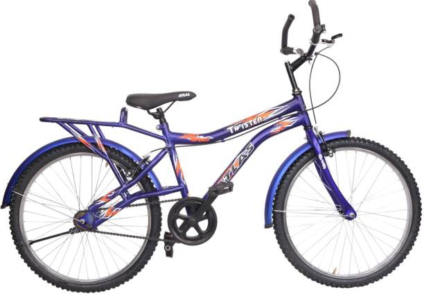 39622eb653c Atlas Twister Deluxe Bike For Teens Matt Blue&Orange 24 T Mountain Cycle