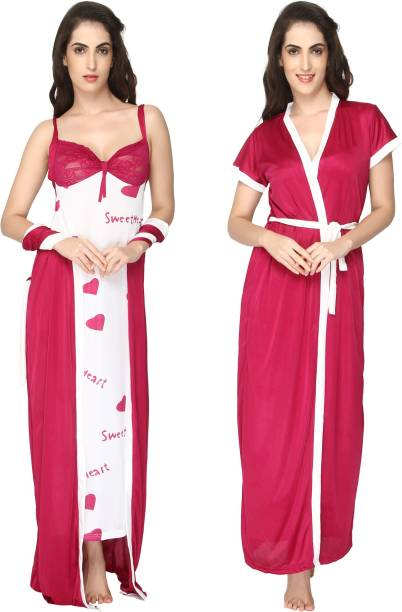 5628db3c4e Placement Prints Patterns Night Dresses Nighties - Buy Placement ...