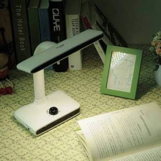 Care 4 LED 40 LED rechargeable lamp folding table desk Reading Lights Control knob study lamp work lamp eye protector with Warm/Cool Study Lamp