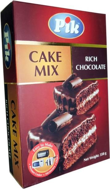 PIK Cake Mix - Rich Chocolate, 350g Self Rising Flour Powder