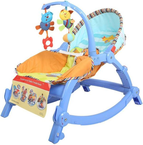 OASIS Newborn To Toddler Portable Baby Rocker (Multicolor)