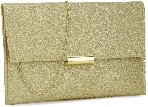 Accessorize Casual Gold Clutch