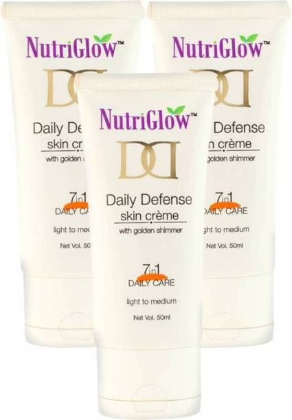 NutriGlow Daily Defense Skin Creame (Pack of 3) Foundation