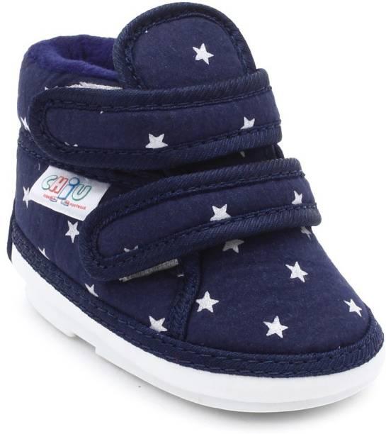 Chiu Boys & Girls Velcro Casual Boots