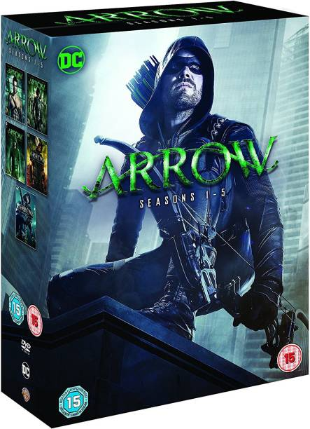 Arrow: The Complete Season 1 to 5 (25-Disc Box Set) (Slipcase Packaging + Fully Packaged Import) (Region 2)