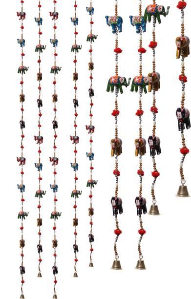 DreamKraft Elephant Full Door Hangings Toran For Home Decor Toran