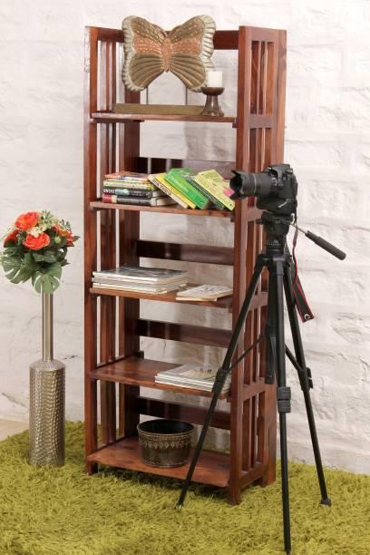 Induscraft Sheesham Wood Solid Wood Open Book Shelf