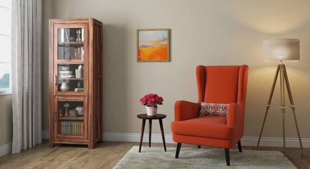 THE ATTIC Sheesham Wood Solid Wood Crockery Cabinet