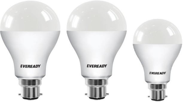 Eveready 12 W, 12 W, 9 W Globe B22 LED Bulb