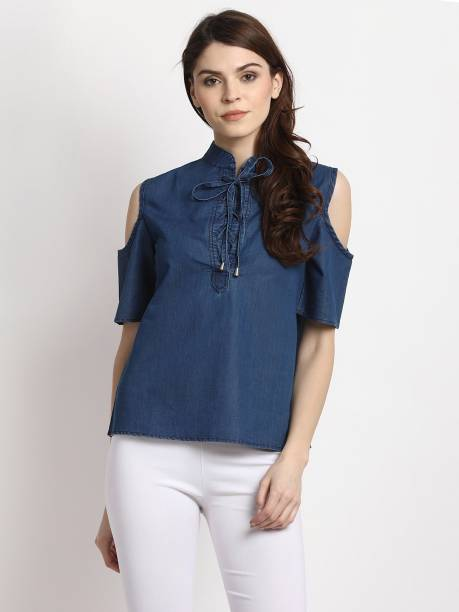 b5f83a82e2fa03 Jeans Tops - Buy Jeans Tops online at Best Prices in India ...