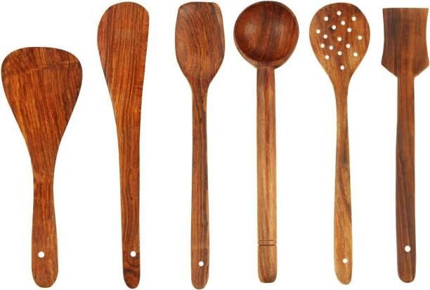 BM KITCHENWARE Wood Ladle
