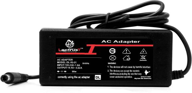 LaptrusT Adapter For Dell20 19.5V 4.62A 90 W Adapter