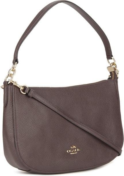 f1db76861b08 ... australia coach women casual maroon genuine leather sling bag 7471e  f920d