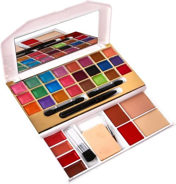 54d60e1964 MITENO mars Makeup kit 24 eyeshadow,2 blusher,2 compact powder,4lipgloss