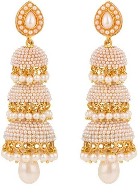 9e8118831 You Bella Stylish Fancy Party wear Jewellery earings Alloy Jhumki Earring