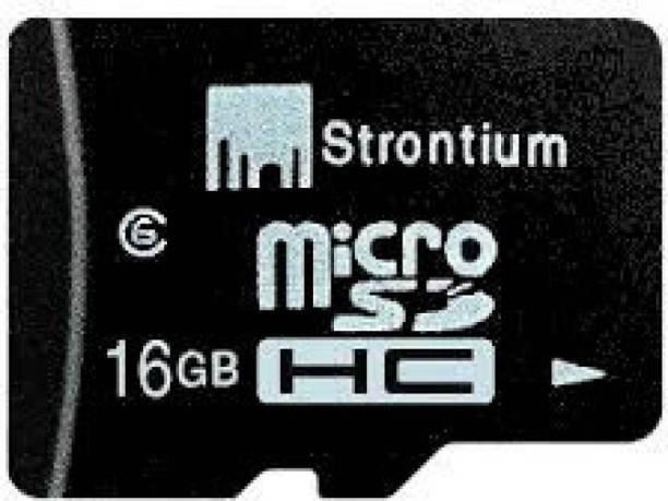 Strontium 2.0 16  GB MicroSD Card Class 6 40 MB/s Memory Card