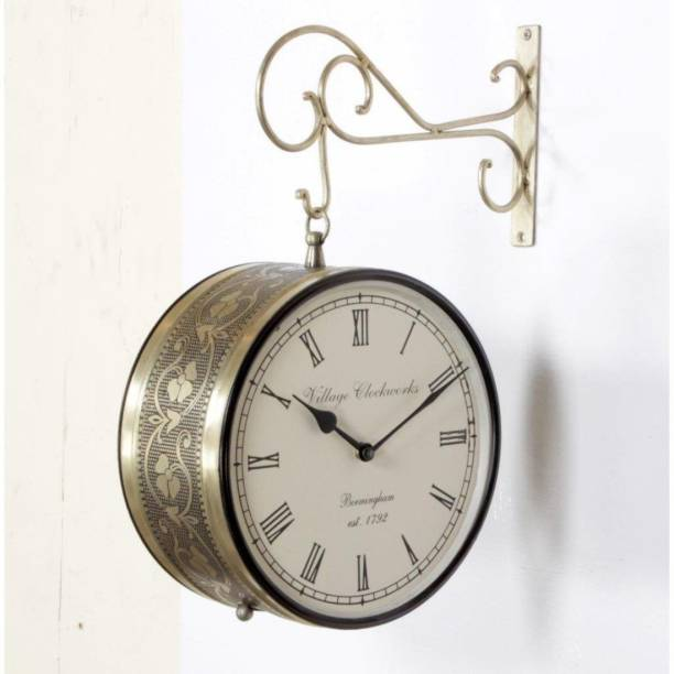 kamdhenu art and craft Analog 25 cm X 25 cm Wall Clock