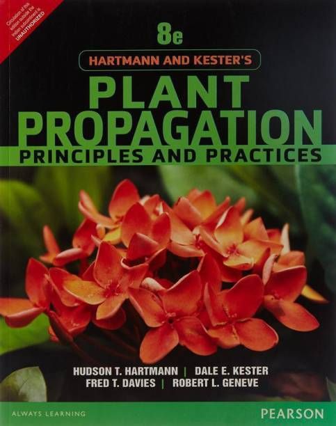 Hartmann and Kester's Plant Propagation 8th  Edition