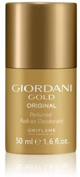 Oriflame Sweden Giordani Gold Original Perfumed Roll-On Deodorant Deodorant Roll-on  -  For Women