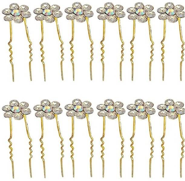 Bridal hair accessories buy bridal hair accessories online at best eucoss bridal hair accessoriesfancy juda pins for bun decorationjuda pins for hair junglespirit Choice Image