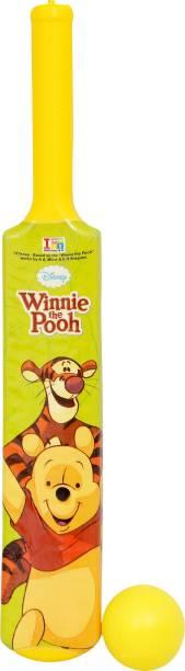 DISNEY Winnie The Pooh My First Bat & Ball Cricket Kit