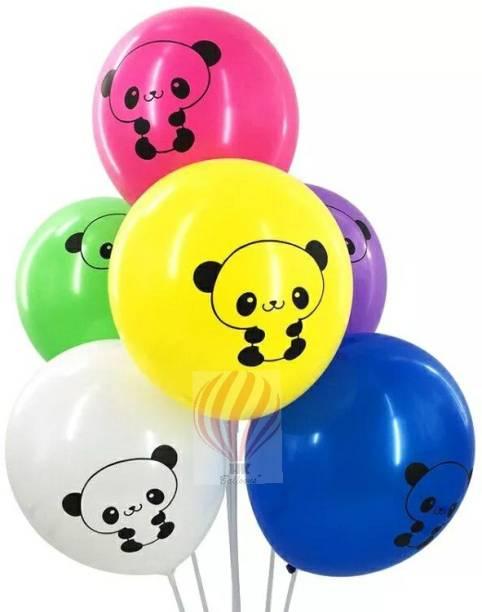 PartyballoonsHK Printed Cute Panda Birthday Party Balloon