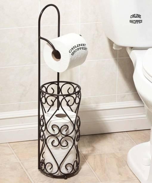 Onlineshoppee Toilet Tissue Roll Dispenser Iron Toilet Paper Holder