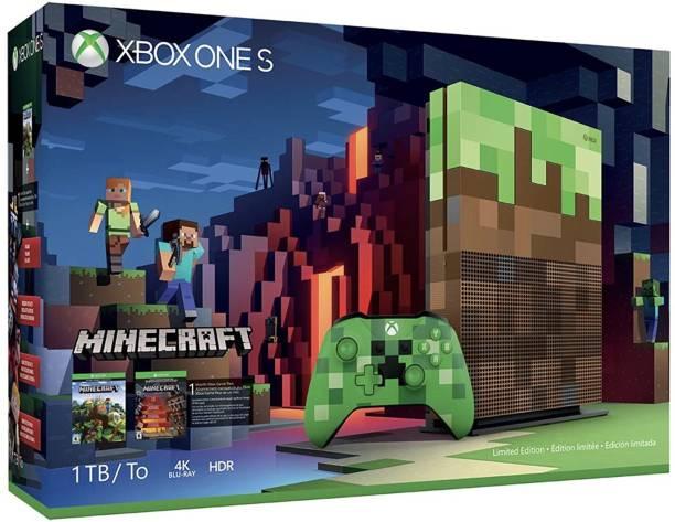 MICROSOFT Xbox One S 1 TB with Minecraft