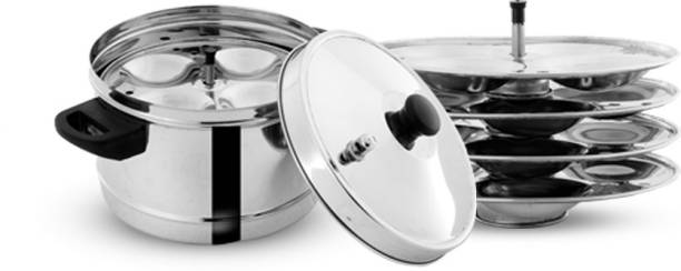 Pigeon Stainless Steel 4 Plates Induction & Standard Idli Maker