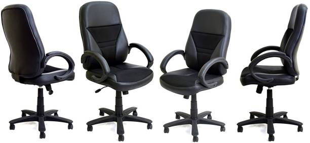 TimberTaste ECO Office Chair Leatherette Office Arm Chair