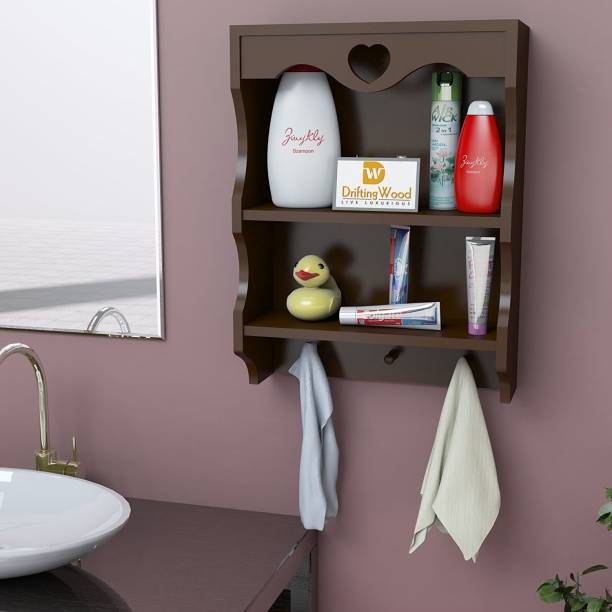 Driftingwood Bathroom Mounted Rack Shelves Shelf High Quality Wooden Home Decor D Cor
