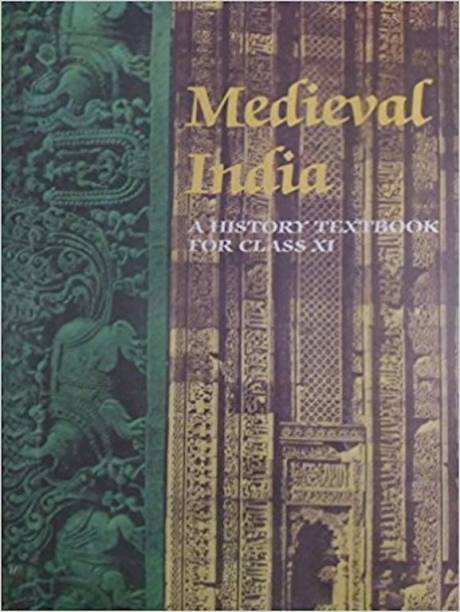Medieval India Old NCERT History Text Book By Satish Chandra