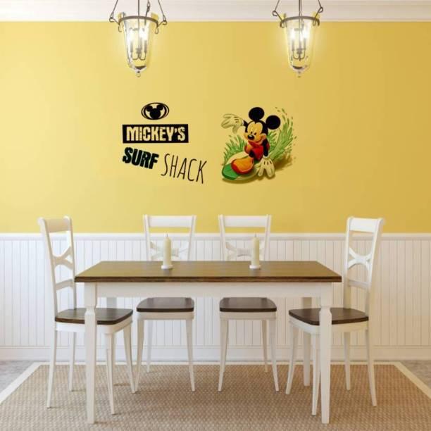 Flipkart SmartBuy Large Mickey Mouse Digital Printed PVC Vinyl