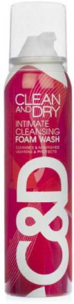 CLEAN AND DRY Cleansing Intimate Wash