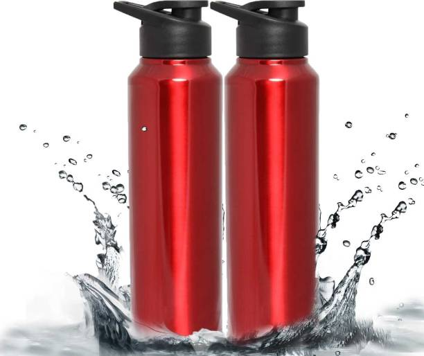 7a63752b17 Zafos Stainless Steel Sipper Water Bottle -RED ,750ml,2pc(Won?