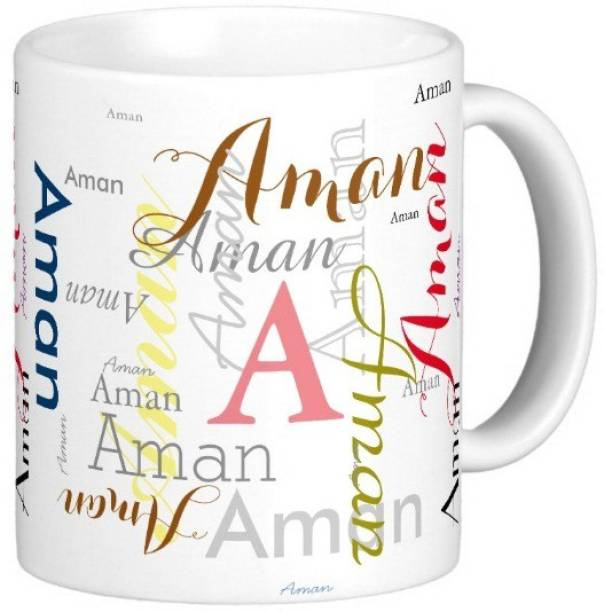 Exocticaa Aman Gift M006 Ceramic Coffee Mug