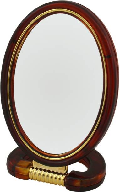 Ear Lobe & Accessories Double Sided Small Oval Mirror
