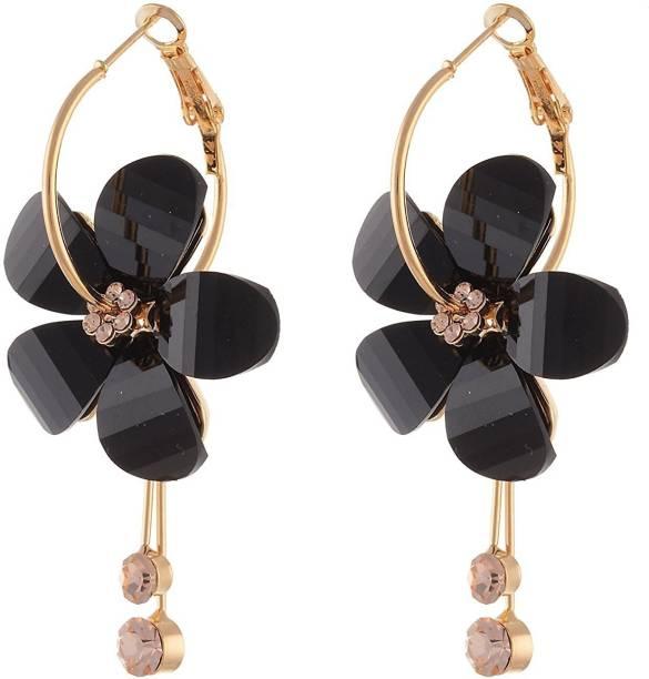 You Bella Stylish Fancy Party Wear Jewellery Earrings Alloy Dangle Earring