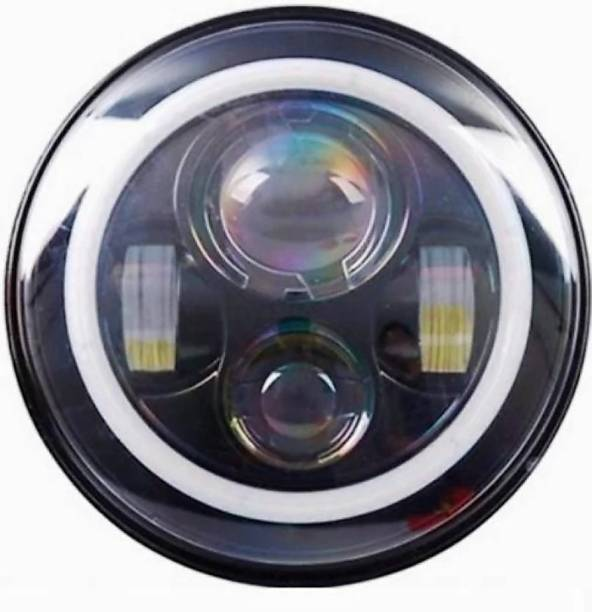 BhanujT LED Headlight For Royal Enfield Classic 500, Classic 350