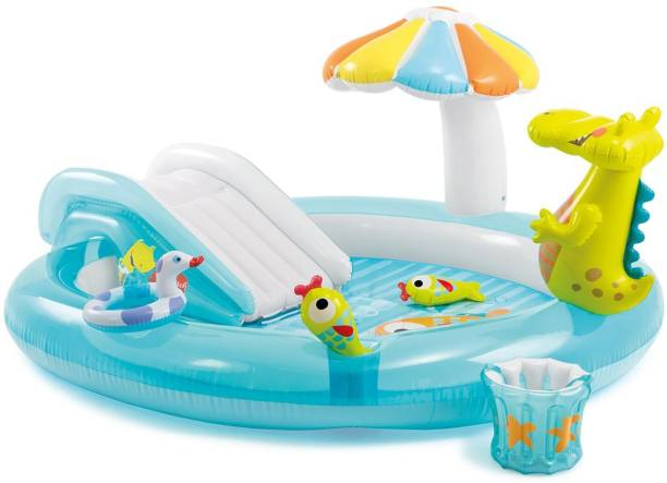 INTEX Gator Play Center Inflatable Swimming Pool