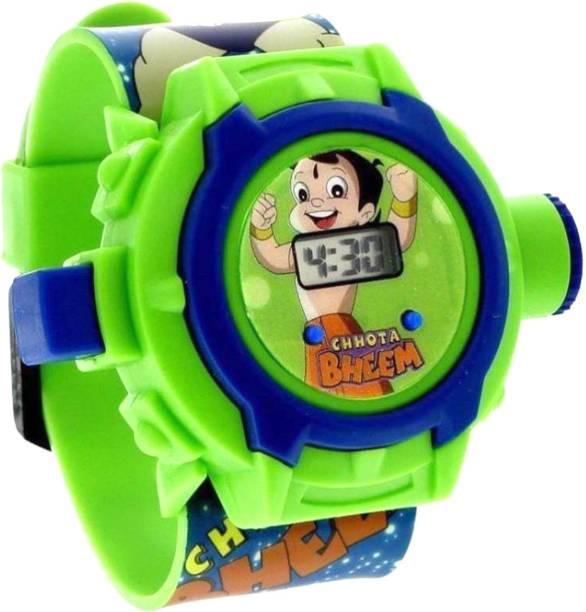 TruOm Chhota Bheem Projector Watch