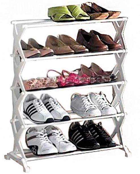 GENCLIQ Plastic, Plastic Collapsible Shoe Stand