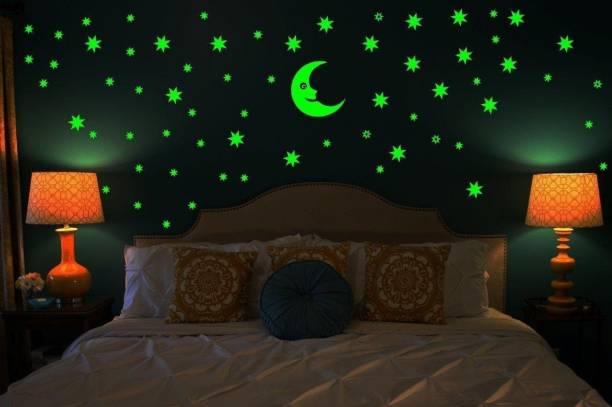 DreamKraft Small Galaxy of Stars Radium Glow in The Dark
