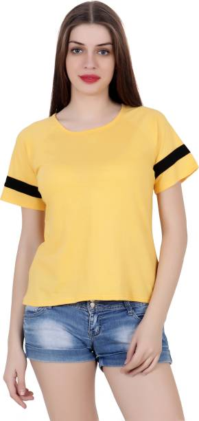 4d9b4189d Women T-Shirts - Buy Polos   T-Shirts for Women Online at Best ...