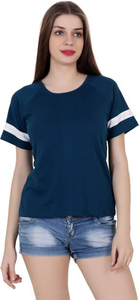 20dafe2904a Women T-Shirts - Buy Polos   T-Shirts for Women Online at Best ...