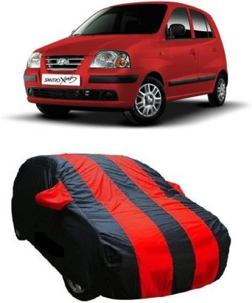 HD Eagle Car Cover For Hyundai Santro Xing (With Mirror Pockets)