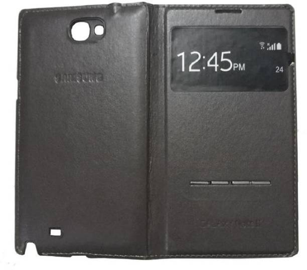Rian Flip Cover for Samsung Galaxy Note 2 ( N7100) (S View Window)