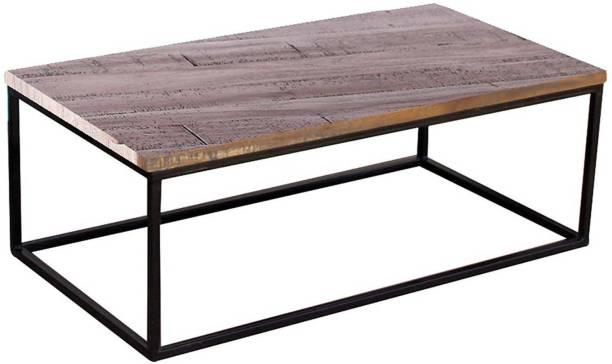 TimberTaste INOX Metal Coffee Table